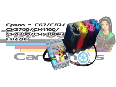 Bulk Ink: Bulk Ink Epson: Bulk ink C67 / C87 / CX3700 / CX4100/ CX4700 / CX5700F / CX7700