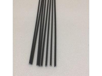 Produtos em Destaque: VARETAS QUADRADAS EM ABS 2mm X 2 mm X 1000 PCT C/ 10 UNID   ( COR DE FERRO )